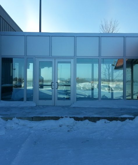 Custom Fully Enclosed Covered Walkway