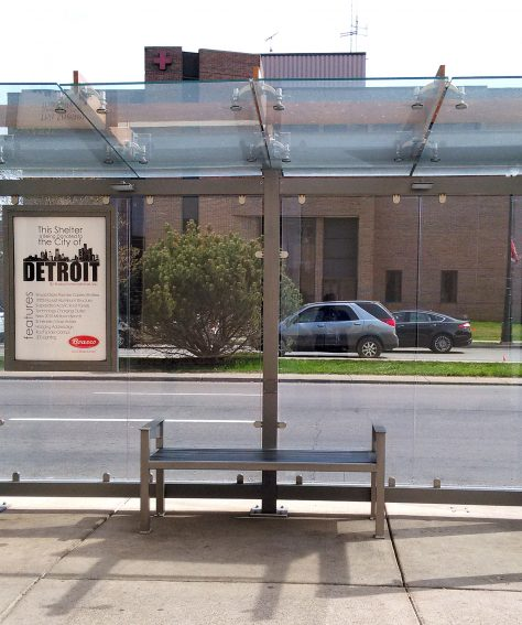 Solar-Powered Bus Shelters