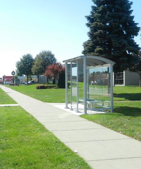 Modern Eco-Friendly Bus Shelters