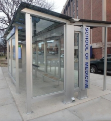 Custom Transit Stations Open in New York