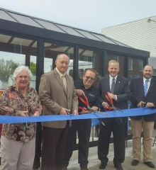Another Ribbon Cutting for Brasco Bus Shelters