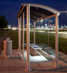 Solar Powered Bus Shelters to Add USB Charging Ports