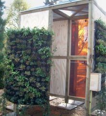 """Cambridge University Students Built What They Call the """"Greenest Bus Shelter"""""""
