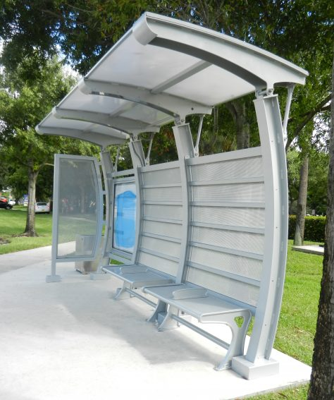 Solar Powered Canopy Shelter