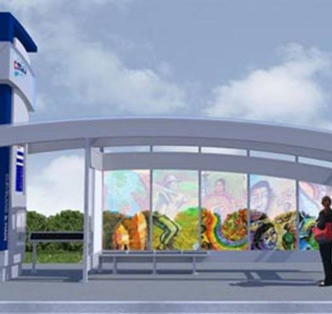 Bus Rapid Transit Shelter