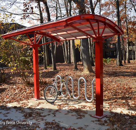 Space Saving Bike Shelter