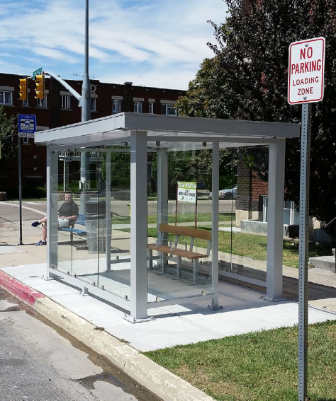 Custom Bus Stop Shelters
