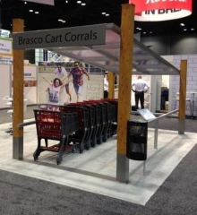 Brasco Premieres its Latest Cart Corral at FMI Connect 2015