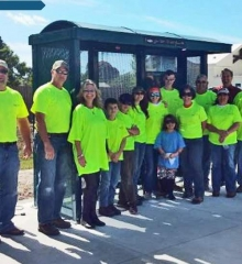 Brasco Bus Shelter Constructed by Sarasota County Transit and Local Boy Scout Troop