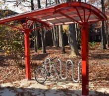Bike Friendly University to Add More Brasco Bike Shelters to Campus