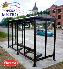 Topeka Metro Improves Transit Experience with New Bus Shelters