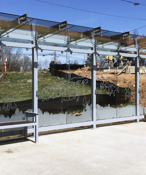 Trident Series Shelters for City of Gastonia